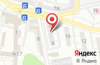 Схема проезда до компании Анна в Дзержинском
