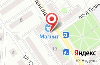 Схема проезда до компании Магнит в Дзержинском