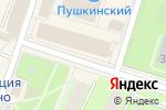 Схема проезда до компании Позитроника в Пушкино