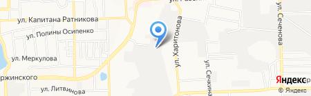 Лентторг на карте Донецка