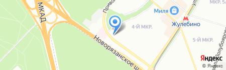 АлюСтрой на карте Москвы