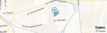 Азовэлектросбыт на карте Донецка