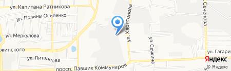 ДонТК-Спецодежда на карте Донецка