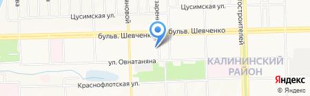 МЕДИФАСТ на карте Донецка