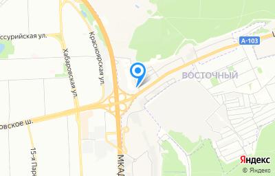 Местоположение на карте пункта техосмотра по адресу Московская обл, г Балашиха, кв-л Щитниково, влд 3