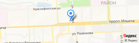 AUTO-COM на карте Донецка