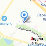 Студия маникюра на карте Москвы