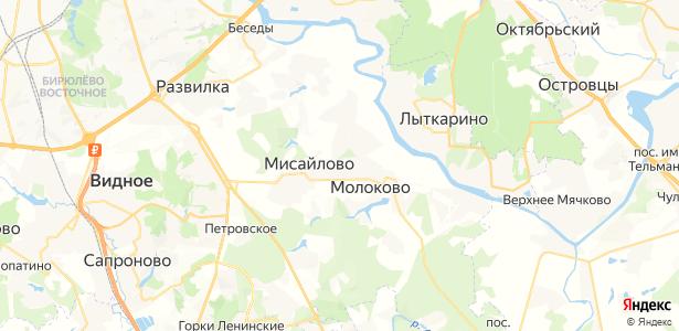 Молоково на карте