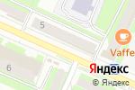 Схема проезда до компании QIWI в Пушкино