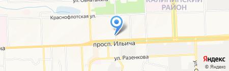 ДОН-ЭКСКЛЮЗИВ на карте Донецка