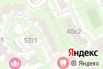 Схема проезда до компании Archwood в Москве