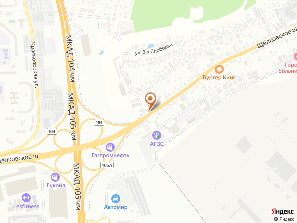 Остановка Щитниково (Московская область)