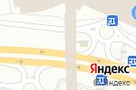 Схема проезда до компании Tutti Frutti в Москве