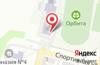 Схема проезда до компании Орбита в Дзержинском