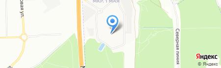 Сим Лайн на карте Балашихи
