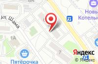 Схема проезда до компании ППР Сервис в Дзержинском