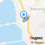 Отряд противопожарной службы №8 на карте Новороссийска