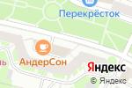 Схема проезда до компании I Love Sushi в Москве