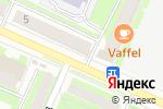 Схема проезда до компании Магазин джинсовой одежды в Пушкино