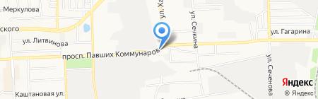 Торговая компания на карте Донецка