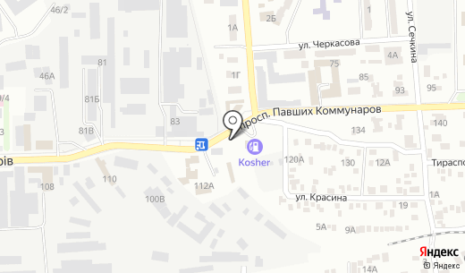 Торговая компания. Схема проезда в Донецке