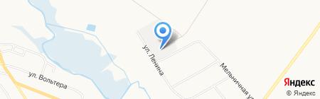 Агрофирма Тепличный на карте Авдотьино
