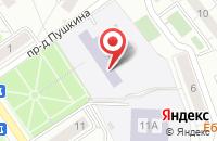 Схема проезда до компании Золотой ключик в Дзержинском
