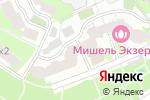 Схема проезда до компании Мишель Экзертье в Москве
