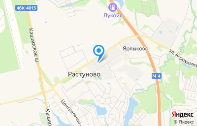 Местоположение на карте пункта техосмотра по адресу Московская обл, г Домодедово, с Растуново, ул Заря, стр 52