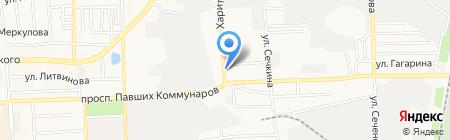СВВ Инженеринг на карте Донецка