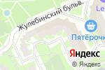 Схема проезда до компании Техномаркетстрой-М в Москве