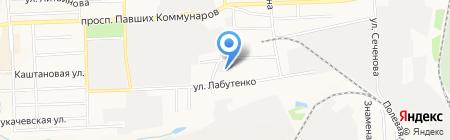 Побутрадиотехника на карте Донецка