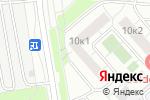 Схема проезда до компании Ателье на Суздальской в Москве