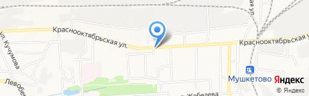 Ник на карте Донецка