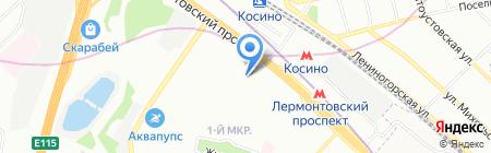 RED-Студия на карте Москвы