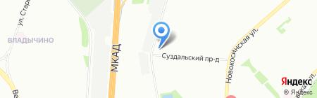 Спортишка на карте Москвы