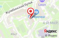 Схема проезда до компании Контраст Медиа в Москве
