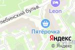 Схема проезда до компании Эксклюз в Москве