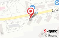 Схема проезда до компании Л-Дент в Дзержинском