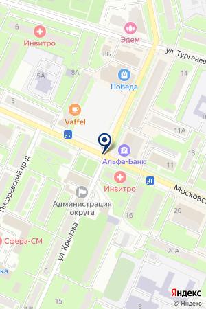 СТРОИТЕЛЬНАЯ ФИРМА ПУШКИНСКИЙ АВТОДОР на карте Пушкино