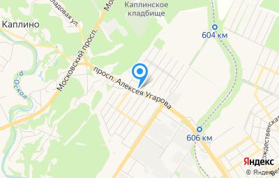 Местоположение на карте пункта техосмотра по адресу Белгородская обл, г Старый Оскол, пр-кт Алексея Угарова, д 31