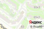 Схема проезда до компании Бюро независимой оценки в Москве