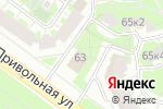 Схема проезда до компании Цукини в Москве