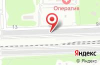 Схема проезда до компании ГСК ЛАДА в Юбилейном