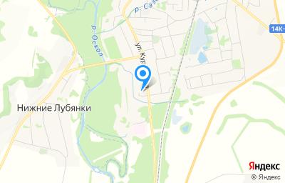 Местоположение на карте пункта техосмотра по адресу Белгородская обл, п Волоконовка, ул Курочкина, д 76