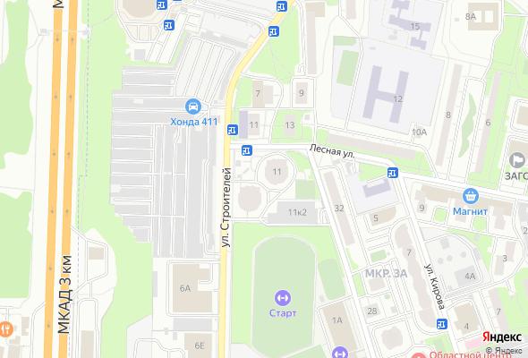 жилой комплекс Лесная 11