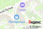 Схема проезда до компании Вершина Моды в Москве