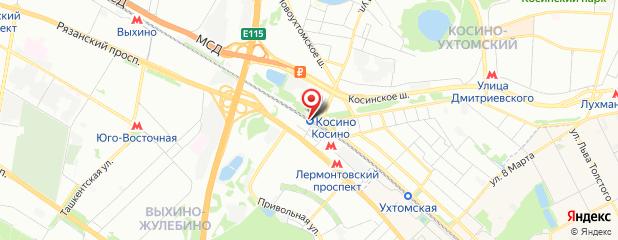 Проститутка Карина +7(926) 552-8957 на Яндекс карте