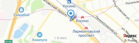 Банкомат Банк Русский Стандарт на карте Москвы