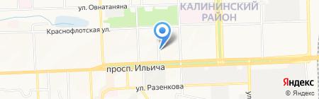 Детский сад №129 на карте Донецка
